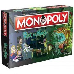 Настольная игра Hobby World Монополия. Рик и Морти (503386) - Картинка 1