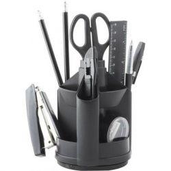 Настольный набор BUROMAX 13 items, black (BM.6300-01)