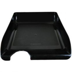 Лоток для бумаг BUROMAX horizontal, black (BM.6000-01)