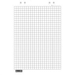 Бумага для флипчарта BUROMAX 64х90, 20 sheets., square (BM.2297)