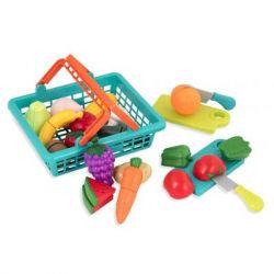 Игровой набор Battat Овощи-фрукты на липучках (BT2534Z)