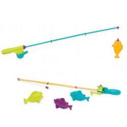 Игровой набор Battat Магнитная рыбалка 2 удочки 4 рыбки (BT2540Z)