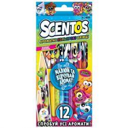 Набор для творчества Scentos Ароматные карандаши ФАНТАЗИЯ 12 цв. (40515)