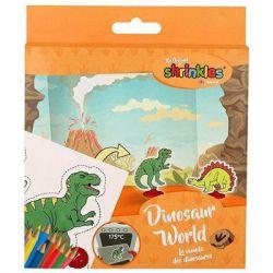 """Набор для творчества Keycraft Набор мини Shrinkles """"Динозавры"""" (WZ051)"""
