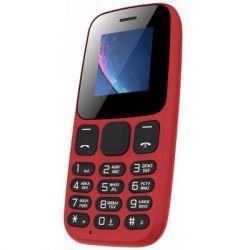 "Мобильный телефон Nomi i144c Red, 2 Sim, 1.44"" (128x128) TN, microSD (max 32Gb), BT, FM, Li-Ion 600mAh"