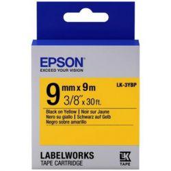 Лента для принтера этикеток EPSON LK3YBP (C53S653002)