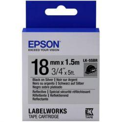 Лента для принтера этикеток EPSON LK5SBR (C53S655016)
