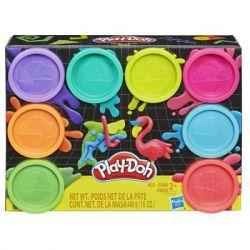 Набор для творчества Hasbro Play Doh 8 цветов Неон (E5063)