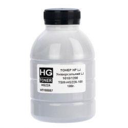 Тонер HP LJ 1010/1012/1015/1018/1020/1022 100г (HG22A) (TSM-HG22A-100) HG toner