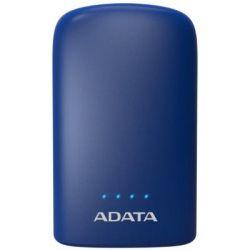 Батарея универсальная ADATA P10050V Dark Blue (10050mAh, 2*5V*2,4A max, cable Micro-USB) (AP10050V-DUSB-CDB)