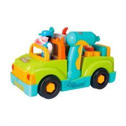 Развивающая игрушка Hola Toys Грузовик с инструментами (6109)