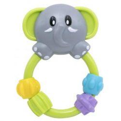 Погремушка Baby Team Любимые зверушки (8403_слоник)