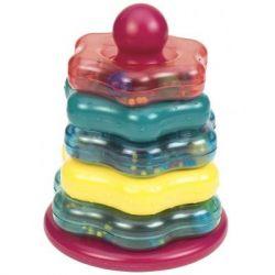 Развивающая игрушка Battat Цветная пирамидка (BT2579Z)
