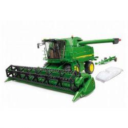 Спецтехника Bruder Комбайн John Deere Combine harvester T670i (02132)
