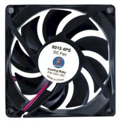 Кулер для корпуса Cooling Baby 8015 4PS