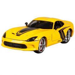 Машина Maisto 2013 SRT Viper GTS желтый - тюнинг (1:24) (31363 yellow)