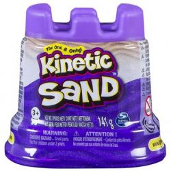 Набор для творчества KINETIC SAND Кинетический песок Мини Крепость (Фиолетовый) (71419P)