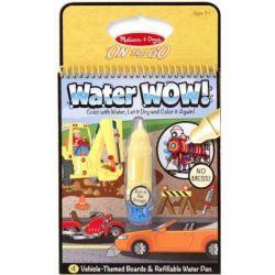Набор для творчества Melissa&Doug Волшебная водная раскраска Транспорт (MD15375) - Картинка 1