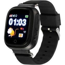 Смарт-часы Gelius Pro GP-PK003 Black Детские умные часы с GPS трекером (Pro GP-PK003 Black)