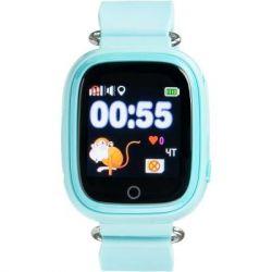 Смарт-часы Gelius Pro GP-PK003 Blue Детские умные часы с GPS трекером (Pro GP-PK003 Blue)