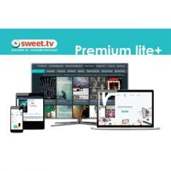 Карта активации SWEET.TV Пакет Premium lite Plus, период на 3 мес. (TRINITY_PLplus_03)