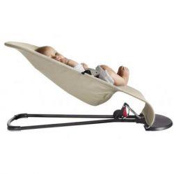 Кресло-качалка Baby Bjorn Balance Soft, бежево/серый Джерси (5083) - Картинка 3
