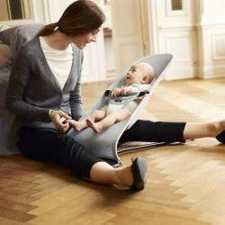 Кресло-качалка Baby Bjorn Balance Soft, бежево/серый Джерси (5083) - Картинка 5