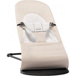 Кресло-качалка Baby Bjorn Balance Soft, бежево/серый Джерси (5083)