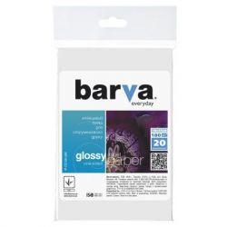 Бумага BARVA 10x15 Everyday 180г Glossy 20с (IP-CE180-286)