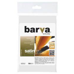 Бумага BARVA 10x15 Everyday 260г Satin 20с (IP-VE260-303)