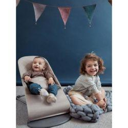 Кресло-качалка Baby Bjorn Balance Sand Grey Mesh (006017А) - Картинка 3