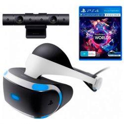 Очки виртуальной реальности SONY PlayStation VR (Camera +VR Worlds) (9782216)