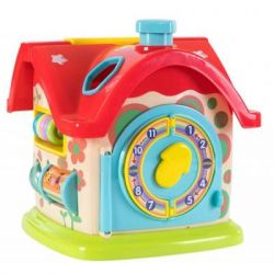Развивающая игрушка Baby Team сортер Домик (8640)