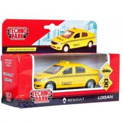 Спецтехника Технопарк Renault Logan Taxi (1:32) (LOGAN-T) - Картинка 3