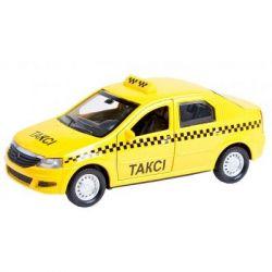 Спецтехника Технопарк Renault Logan Taxi (1:32) (LOGAN-T) - Картинка 1