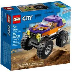 Конструктор LEGO City Great Vehicles Монстр-трак 55 деталей (60251)