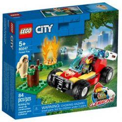 Конструктор LEGO City Fire Лесные пожарные 84 детали (60247)