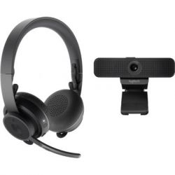 Веб-камера Logitech Personal Video Collaboration Kit (Zone Wireless + C925e) (991-000311)