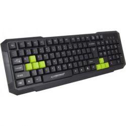 Клавиатура Esperanza Wired EGK102 USB Green (EGK102GUA)