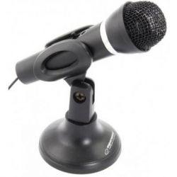 Микрофон Esperanza EH180 Black, на подставке (EH180)