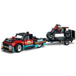 Конструктор LEGO Technic Шоу трюков на грузовиках и мотоциклах 610 деталей (42106) - Картинка 2