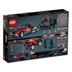 Конструктор LEGO Technic Шоу трюков на грузовиках и мотоциклах 610 деталей (42106) - Картинка 4