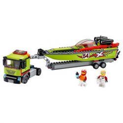 Конструктор LEGO City Great Vehicles Транспортировщик скоростных катеров 238 (60254) - Картинка 2