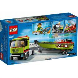 Конструктор LEGO City Great Vehicles Транспортировщик скоростных катеров 238 (60254) - Картинка 4