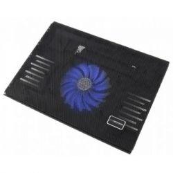 """Подставка для ноутбука до 15.6"""" Esperanza Notebook Cooling Pad EA142 Sol, пластик, подсветка, вентилятор, 340х250х30 мм, 599 г (EA142)"""
