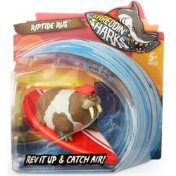 Машина Shreddin' Sharks Фингерборд с фигуркой Riptide Rus (561903)