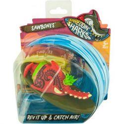 Машина Shreddin' Sharks Фингерборд с фигуркой Sawbones (561996)