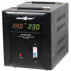 Стабилизатор Maxxter MX-AVR-D5000-01