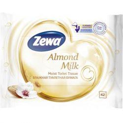 Туалетная бумага Zewa Almond Milk 42 шт (7322540796179)