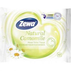 Туалетная бумага Zewa Natural Camomile 42 шт (7322540796520)